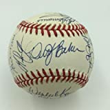 1994 San Francisco Giants Team Signed National League Baseball With Barry Bonds - Autographed Baseballs