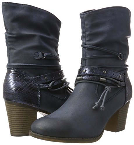 JANE Denim Blau Stiefel 253 Damen Dk 561 KLAIN Cowboy rwO8qr4