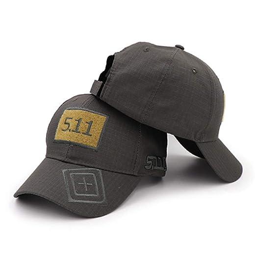 xiaochicun Explosion Hat 5.11 Velcro Camuflaje Gorra de béisbol ...