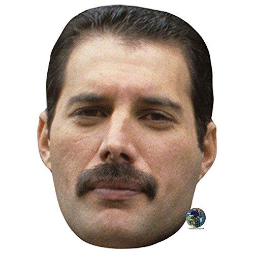 Freddie Mercury Celebrity Mask, Card Face and Fancy