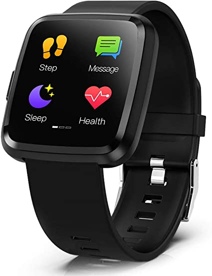 Amazon.com: CY7 PRO Smart Watch Full Screen Touch IP67 ...
