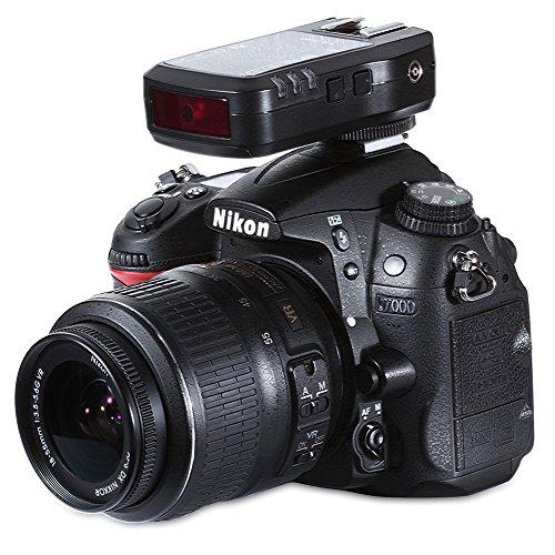Neewer® NW622N FSK 2,4 GHz 7-Kanal Wireless i-TTL-High-Speed-Synchronisation auf Empfänger-Auslöser und Empfänger für Nikon D70 D70S D80 D90 D200 D300 D600 D700 D800 D300S; D3000 D3100 D3200; D5000 D5100; D7000 D7100 Kameras, Nikon SB-400 SB-600 SB-700 SB-800 SB-900 SB-910 Blitzgeräte