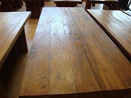 Tavoli Da Pranzo Grandi Dimensioni.Biggi Moda Mare Tavoli Da Pranzo In Teak Riciclato 265x105x7 5