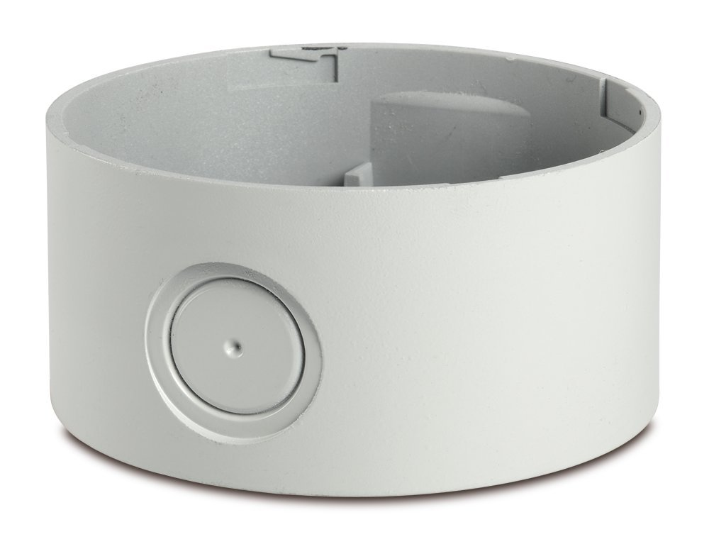 Federal Signal SLMBD-120-240GY Streamline Modular Surface Mount Deep Base, 120-240VAC, Gray, Required Signal Sold Separately, Polycarbonate