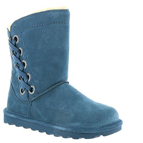 BearPaw Womens Morgan Winter Boot Slate Blue Size 7