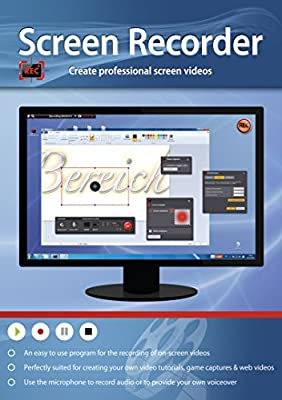 Screen Recorder - Create Professional Videos for Video Tutorials, Game Captures & Web Videos