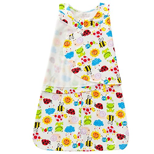 Luyusbaby Newborn Baby Sleeping Bag Swaddle Wrap Receiving Blanket 0-3 Months ()