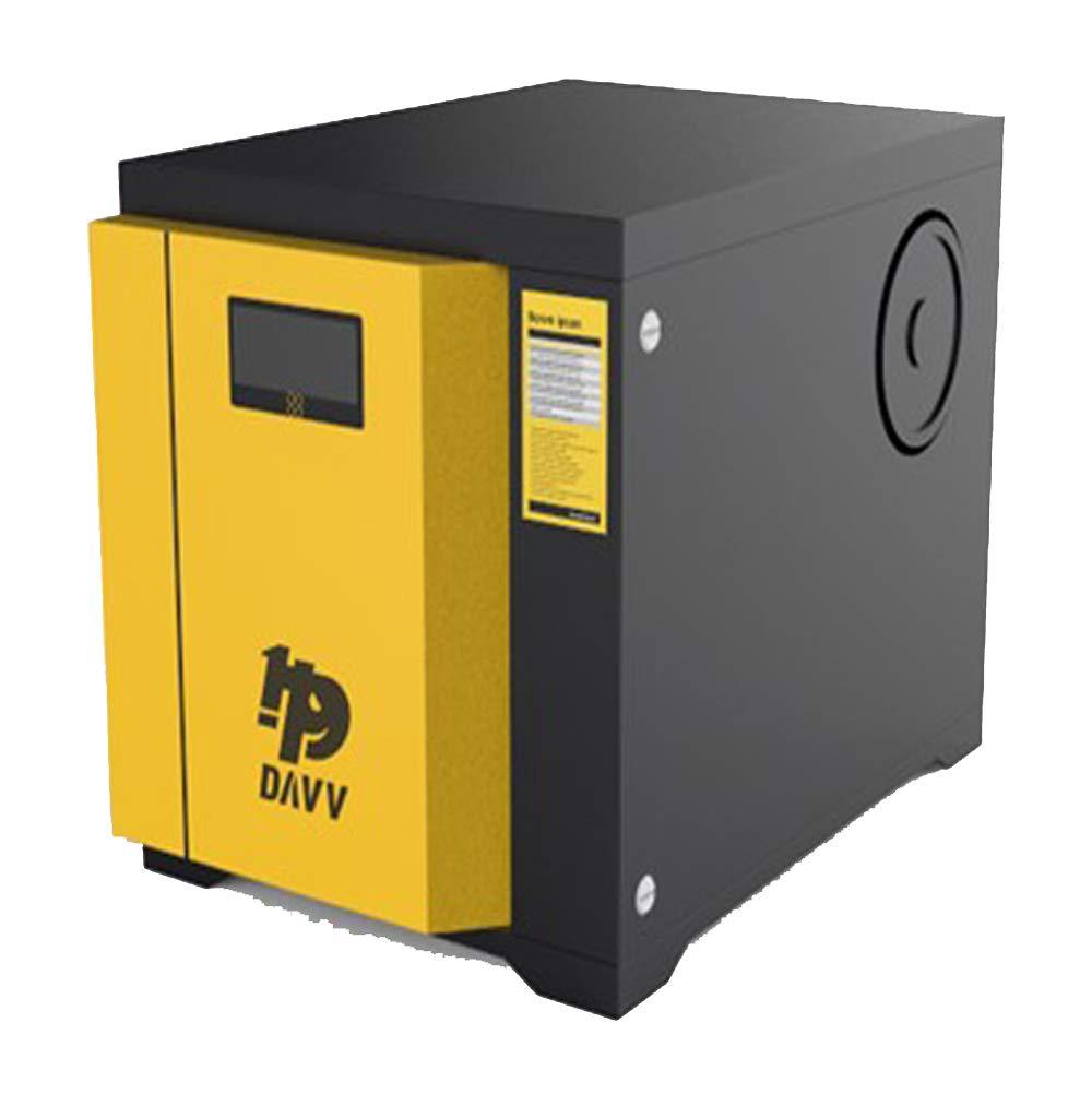 HPDAVV compresor de aire estacionario, sin aceite, 3,7 kW, repuesto de compresor de aire de pistón, 11,3 cfm, certificado ISO9001 CE/FCC, modificación de ...
