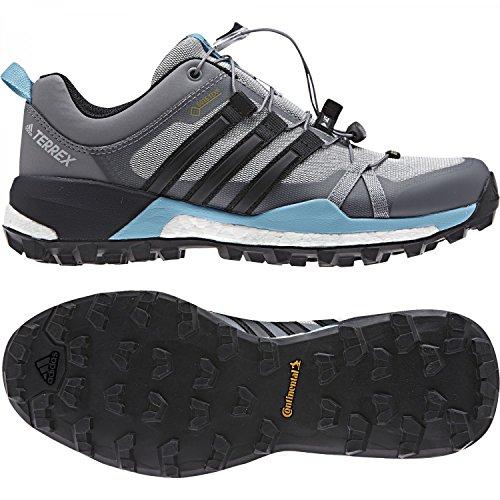 adidas Terrex Skychaser Gtx W, Zapatillas de Senderismo para Mujer Gris (Gridos/Negbas/Azuvap)