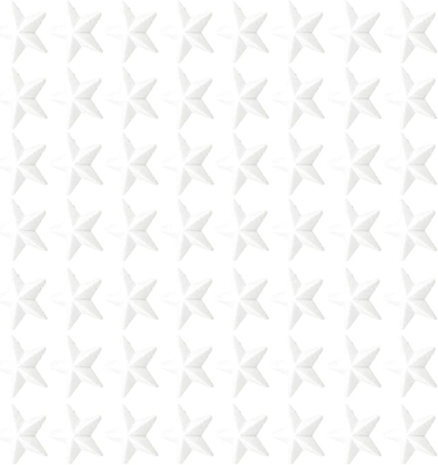 STOBOK 100pcs Mousse de polystyr/ène Mousse de polystyr/ène Formes /étoiles Boules en Mousse de Bricolage Artisanat de No/ël bricolage3cm