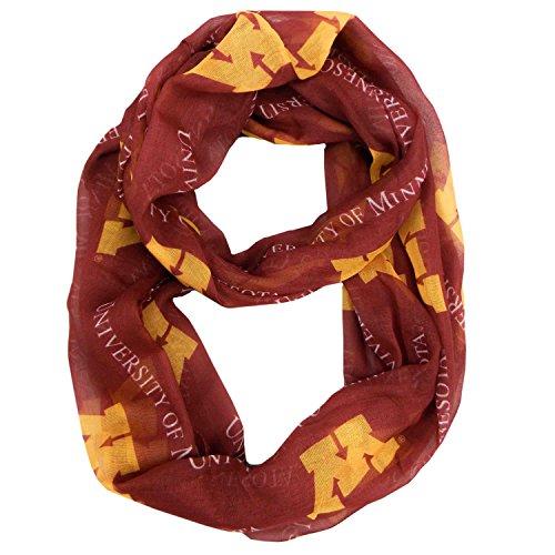 Minnesota Gophers Merchandise - NCAA Minnesota Golden Gophers  Sheer Infinity Scarf