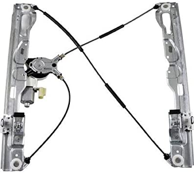 Drivers Front Power Window Lift Regulator with Motor Assembly Replacement for 2009-2010 F-150 2010 SVT Raptor Pickup Truck