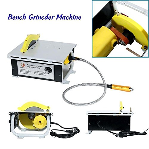 New Multifunction Engraving Carving Machine Flexible Shaft Drilling Table Saw - For Drilling, Grinding, Metal, Acrylic, Foam, Wood Etc.- Durable, Long Lasting - Diametre 0.3-6.5mm by Nice1159
