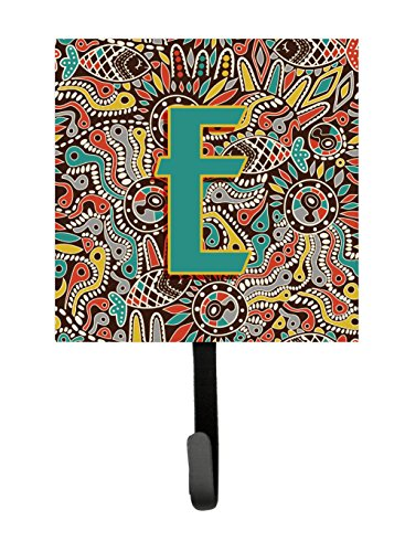 UPC 615872994175, Caroline's Treasures CJ2013-ESH4 Letter E Retro Tribal Alphabet Initial Leash or Key Holder, Small, Multicolor