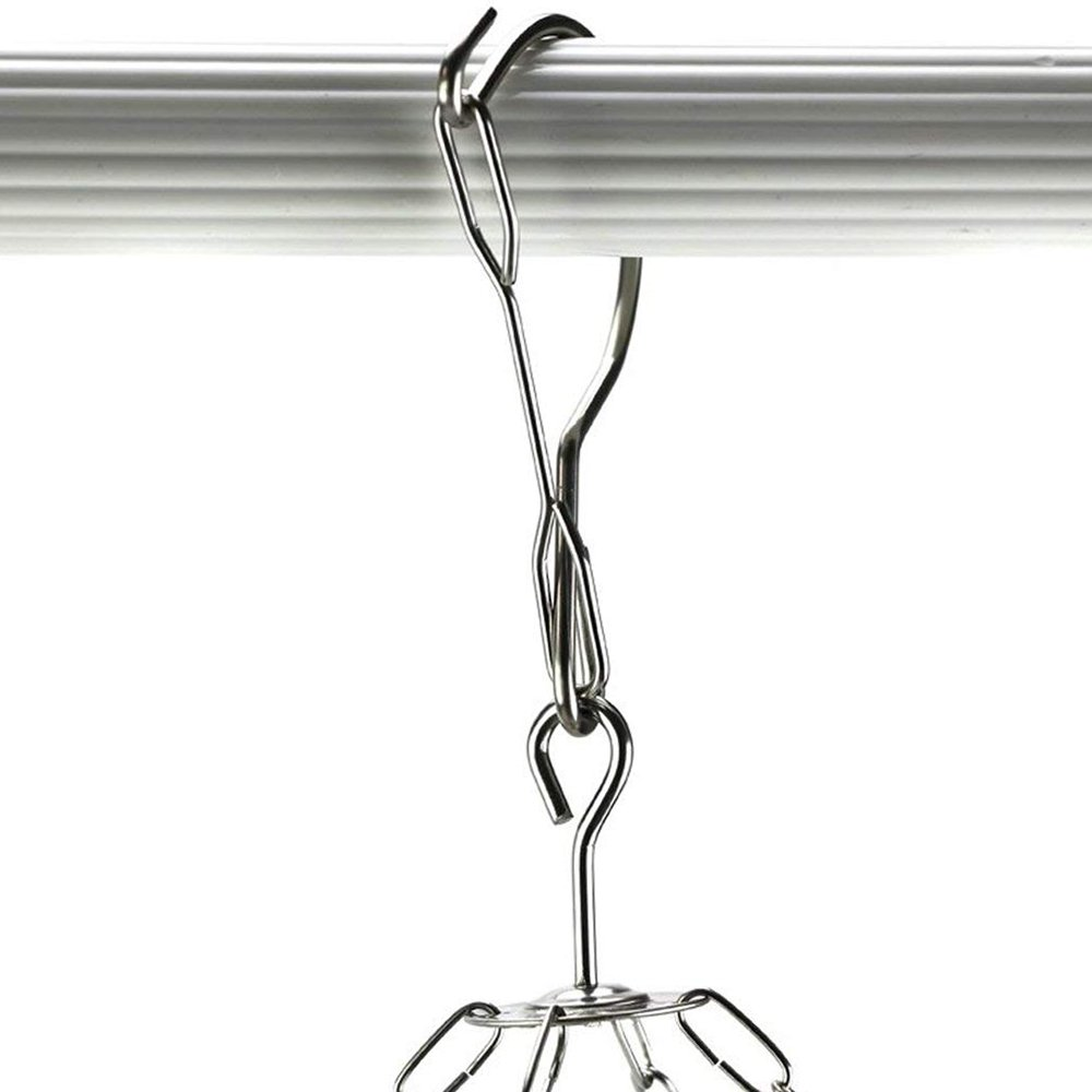 Towels BTMB Hanging Drying Rack Laundry Drip Hanger Stainless Steel with 20 Clips for Drying Socks,Clothes,Underwear
