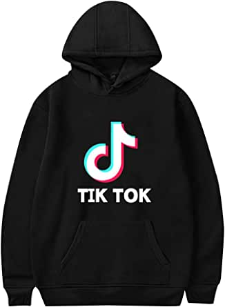 OHYOUNG TIK Tok Hoodie Unisex Long Sleeve Hooded Pullover Oversized C00605WY02