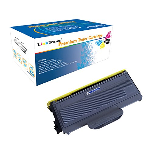 (LinkToner TN360 Compatible Double High Yield for Brother Toner Cartridge for TN-360 BK Laser Printer DCP-7030, HL-2170W)