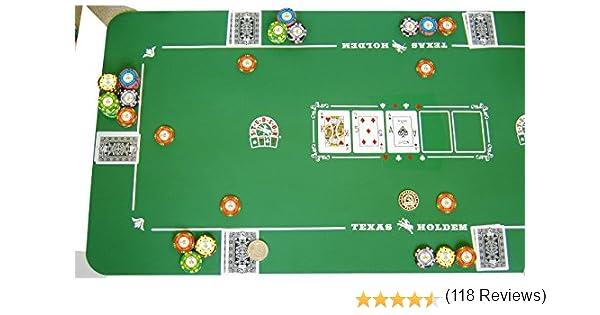 Alfombra de Poker Studson 125x60 de Neopreno: Amazon.es: Juguetes y juegos