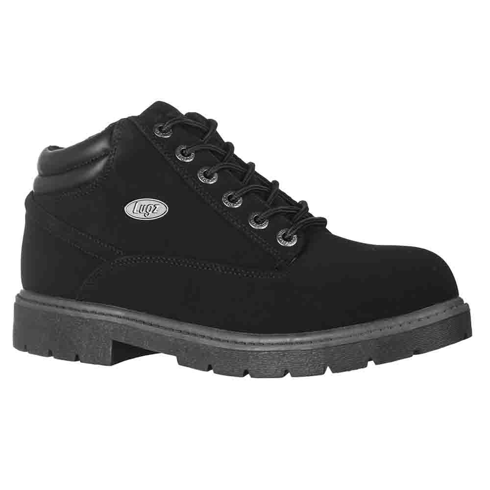 Lugz Men's Monster Mid Boot, Black/Charcoal, 7.5 D US by Lugz