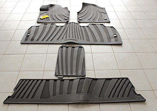 Chrysler Pacifica Front 3 Rows All Weather Slush Floor Mat Set Mopar OEM by Mopar (Image #1)