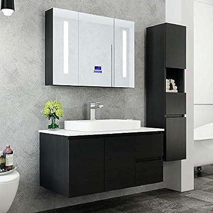 Immagini Arredo Bagno Moderno.Import For Me Mobile Arredo Bagno Tokyo 100 Cm Moderno