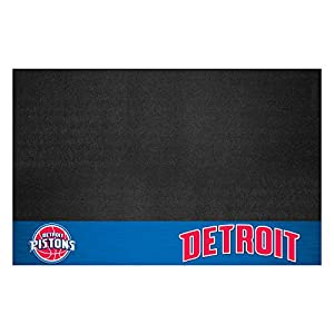 FANMATS 14203 NBA Detroit Pistons Grill Mat