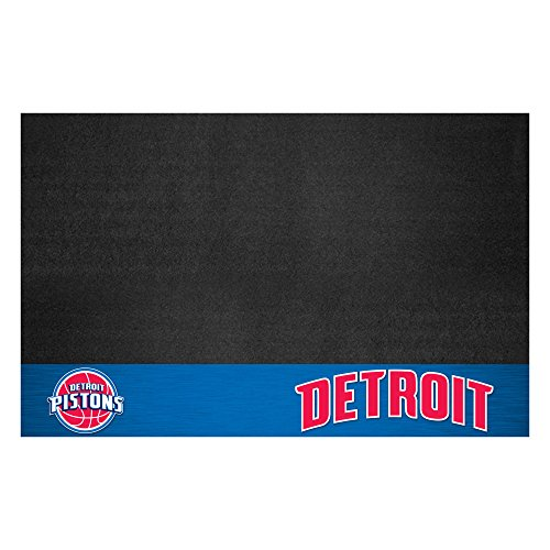 FANMATS 14203 NBA Detroit Pistons Grill Mat by Fanmats