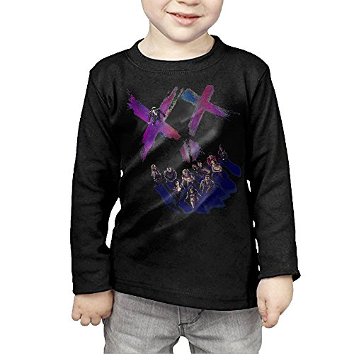 CAYCGH Child Kids Suicide Squad Team Long Seelve Baseball Jersey T-Shirt Tee 2 Toddler