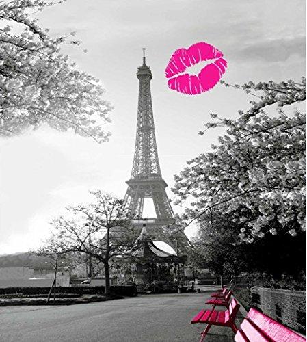 Romance De Paris Bathroom Fabric Shower Curtain 180 200 Paris Romance