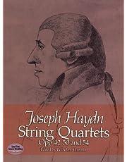 String Quartets, Opp. 42, 50 and 54