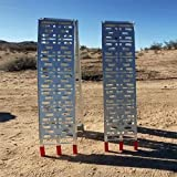 Smartxchoices Pair 7.5' Folding Truck Ramps