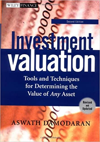 ASWATH DAMODARAN ON VALUATION PDF