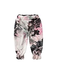 Baby Harem Pants Kids Linen Pants Outdoor Bloomers Summer Pants [Chinese Style]