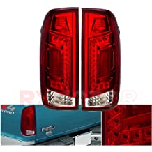97-03 F150 F250 Styleside Replacement LED Brake Stop Tail Lights Lamps