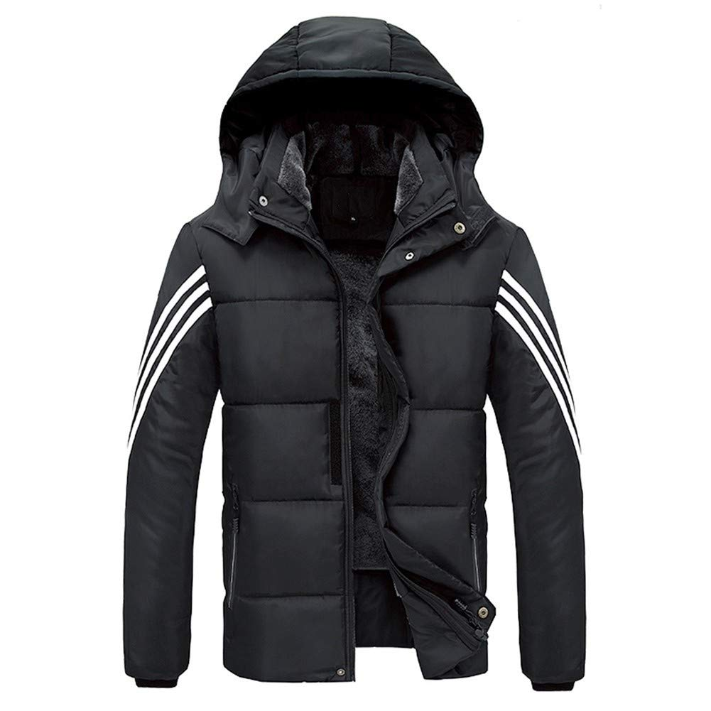 Noir 9XL YUMG Veste Veste d'hiver Hommes 7XL 8XL 9XL Coton épais Chaud Parka Manteau Décontracté MÂle Veste Coupe-Vent Hommes