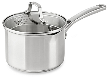 Calphalon® Classic Stainless Steel 2.5 qt. Covered Sauce Pan - BedBathandBeyon​d.com