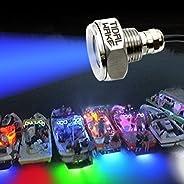 Tidal Wake IP68 Underwater 1/2in Standard Boat Drain Plug LED Light, Brilliant Underwater Lighting in Minutes!