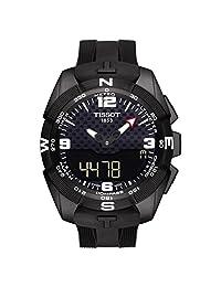 Tissot T-Touch Expert T091.420.47.057.01 Black Dial Rubber Solar Men's Watch