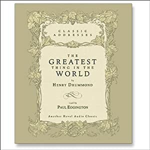 Greatest Thing in the World Audiobook