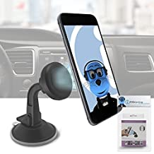 Magnetic Cradle-less Case Compatible Car Mount Holder Windshield Dashboard for ZTE Grand X2 IN
