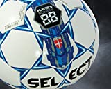 Select Numero 10 Soccer Ball, White/Black/Gold, 4