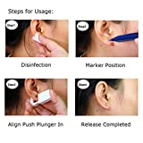 2 PCS Disposable Ear Piercing Gun, No Pain Safety