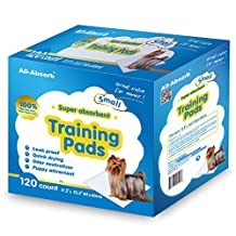 All-Absorb Small Training Pad, 17.5-Inch by 23.5-Inch, 120 Count