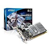 MSI N8400GS-MD512H nVidia GeForce 8400GS 512MB DDR3 VGA/DVI/HDMI Low Profile PCI-Express Video Card