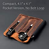 EDC Leather Pocket Organizer, Pocket Slip, Pocket