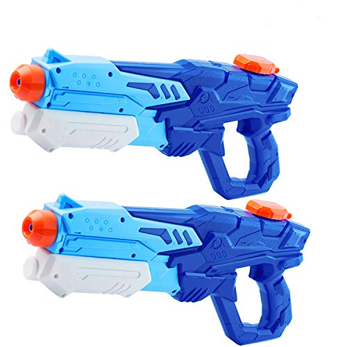 Yidarton Water Gun for Kids Adults 2 Pack Squirt Guns Super Water Soaker Blasters Long Range 600CC Water Toy for Boys Summer Swimming Pool Beach Sand Water Fighting Toy (2Pack)