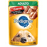 Ração Úmida Pedigree Sachê Carne ao Molho para Cães Adultos 100 g Pedigree para Todas Todos os tamanhos de raça Adulto - Sabor Carne 100 g