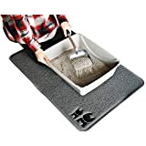 "Brask Pet XL Cat Litter Box Mat - Traps Litter from Box and Cats - Easy to Clean Scatter Control - Soft on Kitty Paws - Extra Thick - Jumbo 35"" x 23"""