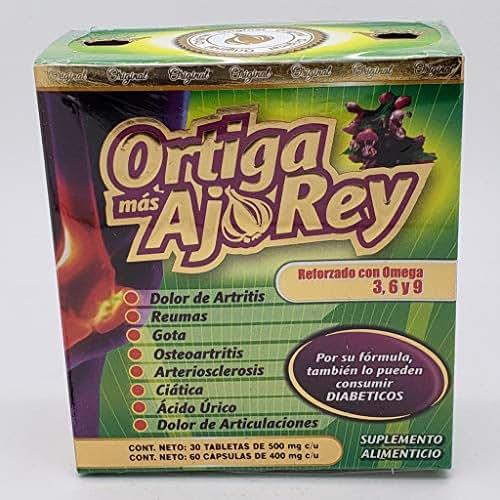 Ortiga mas AJO Rey Original - Reforsado con Omega 3,6,9