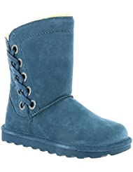 Bearpaw Morgan Slate Blue Womens Winter Boot Size 9M